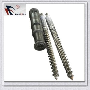 Extruder Parallel Twin Barrel Screw for Cmt/Battenfeld for PE Extrusion Line