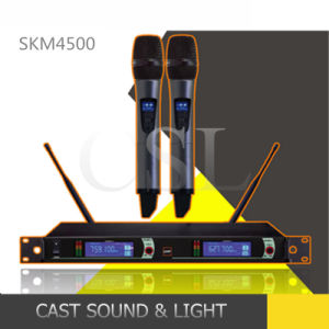 Remote Operation Frequency Stabilization Professional UHF Wireless Microphone pictures & photos