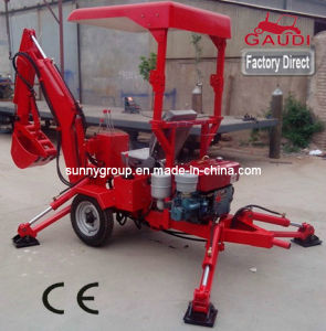 CE Approved Mini Excavator / Towable Backhoe (LW series) pictures & photos