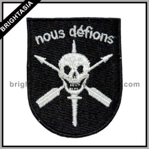 Top Quality Embroidary Patches Skull (BYH-10901) pictures & photos