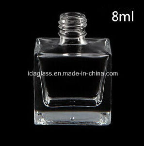 High Grade Clear Nail Glass Bottles 8ml