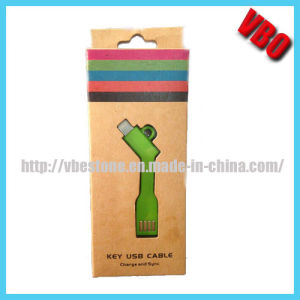 Fashionable Key USB Cable for iPhone/ Samsung (IP-018) pictures & photos