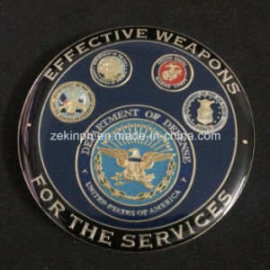 Customized High Quality Military Challenge Coins for government pictures & photos