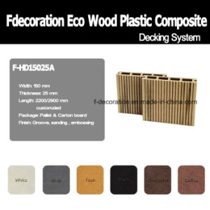 High Quality PVC Composite WPC Decking Floor