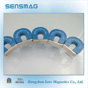 Customized Permanent Horseshoe AlNiCo5 Magnet pictures & photos