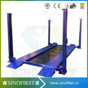 Two Four Post Electric Parking Lift Auto Lifts for Garage pictures & photos