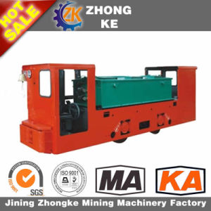 Coal Mine Underground Storage Battery Electric Locomotive on Sale