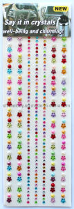 Multicolor Pearl Rhinestone Sticker/Gem Borders for Decoration pictures & photos