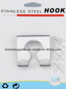 H1001 Stainless Steel Over Door Hook Hanging Hook Load 3.0kgs