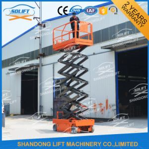 Hydraulic Battery Self Propelled Scissor Lift pictures & photos
