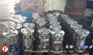 ANSI Reduced Bored Cast Steel Floating Ball Valve pictures & photos