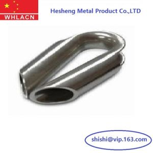 Stainless Steel Casting Hardware Electrical Wire Thimble pictures & photos