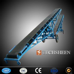 Electric Motor Conveyor Belt, Stone Crushing Plant Stone Belt Conveyor, Stone V Belt Conveyor pictures & photos