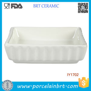 White Ceramic Fish Bowl Pet Accessories Wholesale China pictures & photos