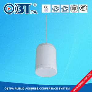 Indoor Sound Cylinder Speaker/ Pendant Loudspeaker /Hanging Indoor System Speaker