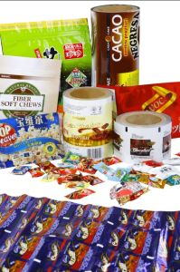 Rd136 Metalzied Pet Film for Chocolate Bag pictures & photos