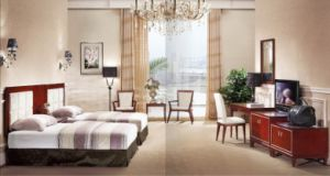 Hotel Modern Double Room Suite Bedroom Furniture (GLB-208) pictures & photos