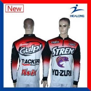 Healong Top Sale Sportswear Sublimation Fishing Shirt pictures & photos