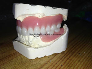 Full Arch Acrylic Denture pictures & photos