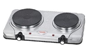 Double Stainless Steel Electric Hot Plates