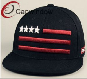 Star and Stripe Embroidery Fashion Leisure Baseball/ Snapback Hat (01179) pictures & photos