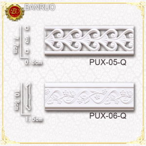 Decorative Cornice Crown Moulding (PUX05-Q, PUX06-Q) pictures & photos