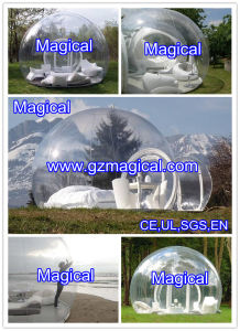 Outdoor Leisure Transparent Inflatable Camping Tent (MIC-683) pictures & photos
