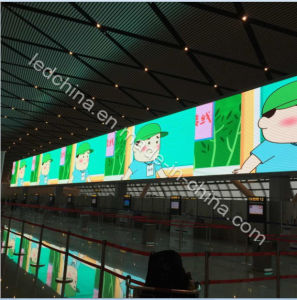 Indoor Full Color P4 Perimeter LED Display Screen pictures & photos