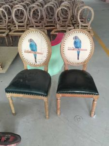 Chair/Restaurant Chair/Foshan Hotel Chair/Solid Wood Frame Chair/Dining Chair (NCHC-031) pictures & photos