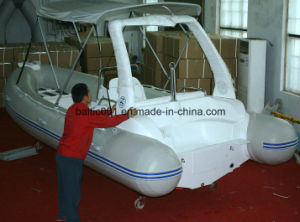 Rescue Fiberglass Inflatable Boat 580 Rib Ce pictures & photos
