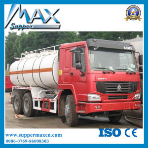 Sinotruk HOWO 6*4 25000 Liters Diesel Oil Tank Fuel Tanker Trucks for Sale pictures & photos
