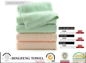 Antibacterial Organic Bamboo Baby Face Towel pictures & photos