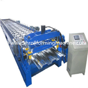Galvanized Steel Sheet Floor Deck Roll Forming Machine pictures & photos