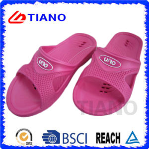 New Pink Lovely EVA Slipper with Logo for Women (TNK35652) pictures & photos