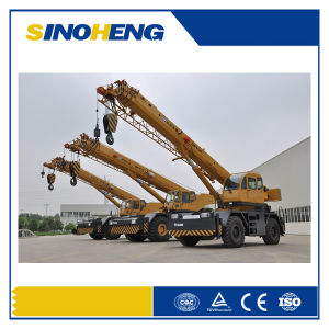 Manufacture 60 Ton Hydraulic Rough Terrain Crane Qry60 pictures & photos