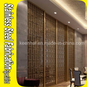 Outdoor Decorative Stainless Steel Wall Partition pictures & photos