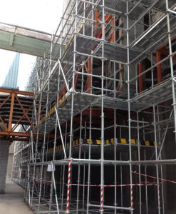 Ring Lock Ringlock Scaffold Construction Formwork Scaffolding System pictures & photos