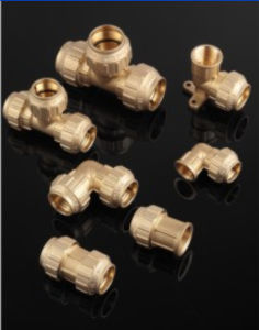Aperture Threaded Brass Fittings Copper pictures & photos