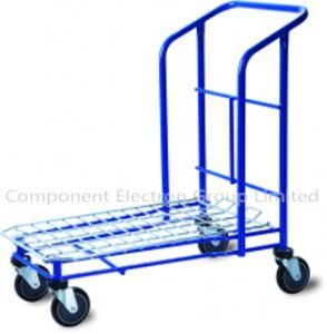 Warehouse Trolley/Rolling Platform/Platform Truck, Warehouse Trolley Cart for Shopping pictures & photos