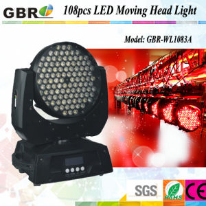 108PCS X 3W LED Moving Head Stage Wash Lighting