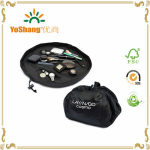 Custom Makeup Travel Promotional Fashion Foldable Cosmetic Bags, Makeup Brushes Bag pictures & photos