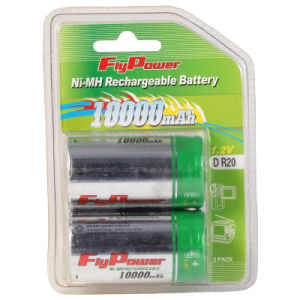 Ni-MH 1.2V D10000mAh Rechargeable Battery (FH-D10000C)