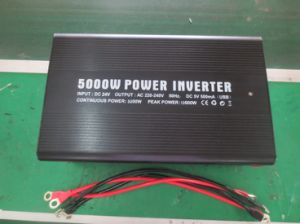 Modified Wave Inverter for Car Power China Supplier Good Quality