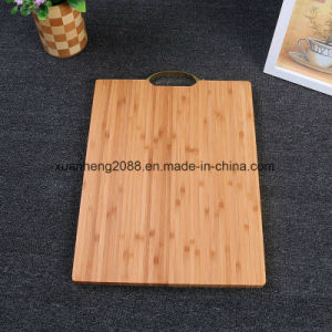 Eco-Friendly Chopping Block Bamboo Kitchen Cutting Board pictures & photos