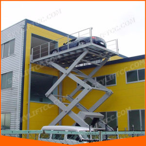 3ton 3m Hydraulic Electric Scissor Car Lift for Home pictures & photos