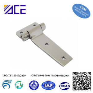 Customized Stainless Steel Flat Round Bar Hinges pictures & photos