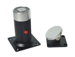 110 Lbs Smokeproof Floor Mount Electromagnetic Door Holder--Js-32 pictures & photos