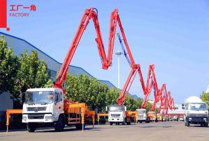 Diesel Truck-Mounted Concrete Pump 25m 28m 32m 37m 48m pictures & photos