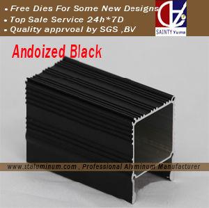 Andoized Black Aluminum Profile for Nepal Market