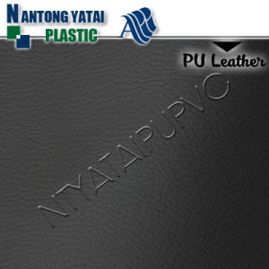 Cheap Embossed Classical PU Upholstery Leather pictures & photos